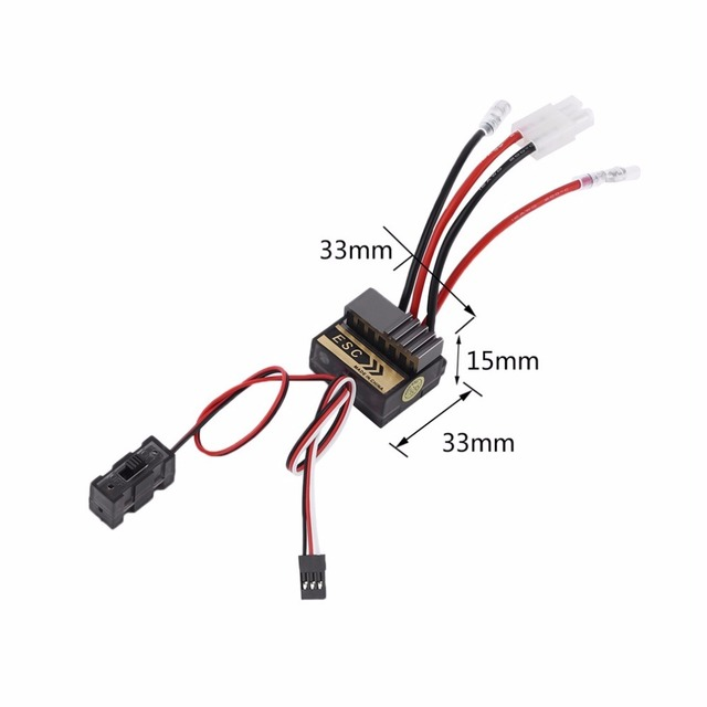 NiMH 4.8 - 7.2V 320A Brushed Electric Speed Controller Brush ESC For RC Car boart 1/8 1/10 Truck Buggy