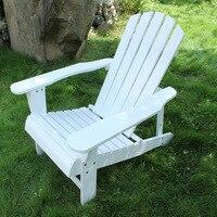 Açık Folidng Ahşap Adirondack Sandalye 2 Renkler Beyaz/Kırmızı Açık Mobilya Katlanır Sandalye Ahşap Plaj Balkon Sandalye Salon