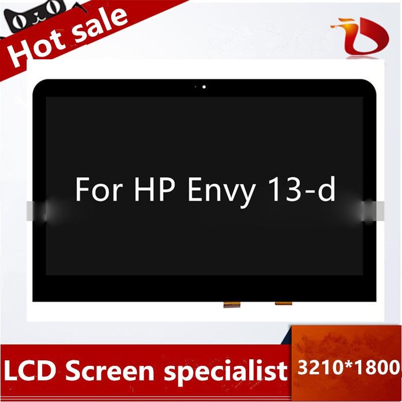 Free shipping Latumab New 13.3 For HP Envy 13-d QHD  1920X1080 3200*1800  LCD Display AssemblyFree shipping Latumab New 13.3 For HP Envy 13-d QHD  1920X1080 3200*1800  LCD Display Assembly