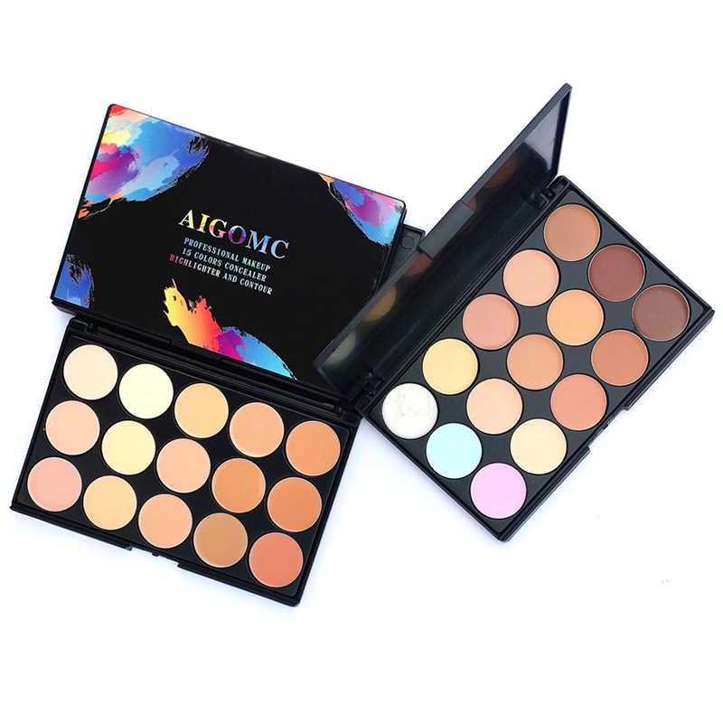 Chaud 15 couleurs Contour Palette fond de teint Base Up Palettes cosmétiques correcteur Palette visage apprêt crème beauté contours TSLM1