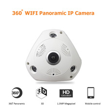 Wireless 360 Degree Panorama Camera HD 960P W house cameras