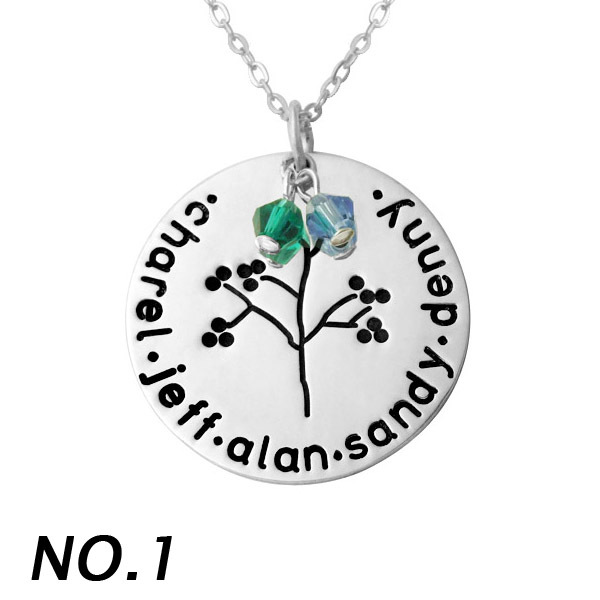 jewelry tree il pendant personalized necklace grandma gift mothers family listing birthstone