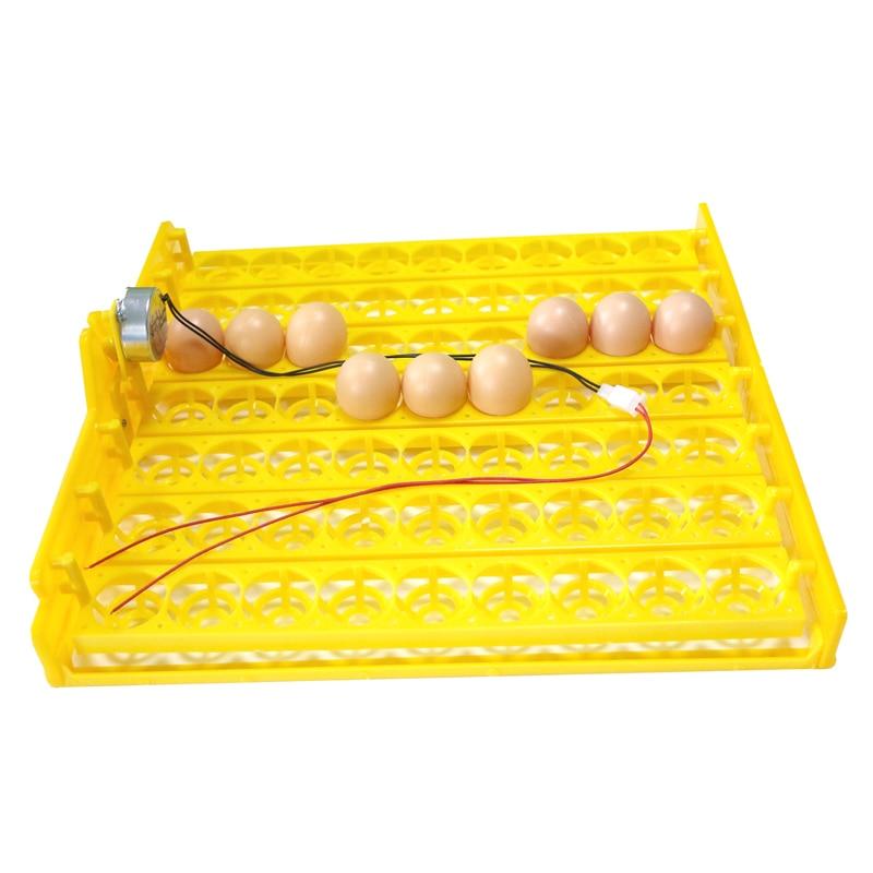 63 ovos incubadora automática bandeja ovo incubadora de ovos 110 v/220 v motores novo equipamento incubação frango pássaro equipamento