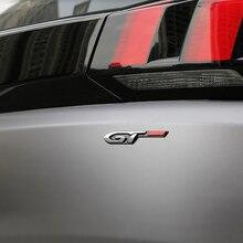 Для peugeot 208 301 308 408 508 2008 3008 4008 5008 автомобиль задний багажник Наклейка Обложка Сторона Эмблемы GT стикеры автомобильные аксессуары