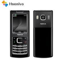 Отремонтированный Nokia 6500 Classic 6500C разблокированный мобильный телефон 3g четырехдиапазонный(Поддержка русской клавиатуры
