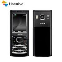 משופץ מקורי נוקיה 6500 קלאסי 6500C סמארטפון נייד טלפון 3G Quad Band (תמיכה רוסית מקלדת)|mobile phone|unlocked mobile phonephone 3g -