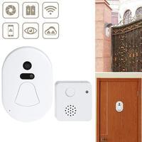 Smart WiFi Door Phone intercom Doorbell Wireless Unlock IR CUT Night Vision Motion Decetion Alarm Home Security