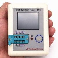2016 New Latest Version LCR TC1 Transistor Tester TFT Diode Triode Capacitance Meter LCR ESR NPN
