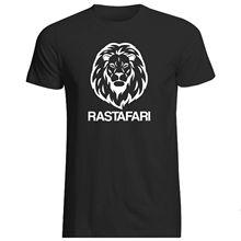 RASTAFARI LION T-SHIRT - VARIOUS SIZES + COLS (Branded rasta jah Jamaica) Harajuku Tops Fashion Classic Unique free shipping
