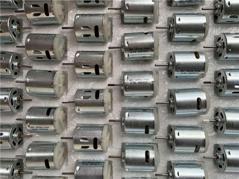 RS-365SA Micro 365 DC Motor 2.3mm D As 6 V-12 V 23500 RPM Hoge Snelheid Carbon Borstel motor voor Auto Pomp Speelgoed Model Modificatie