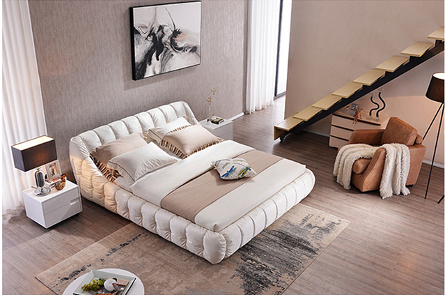 Modern Bedroom Furniture Bed With High Quality Fabric M05 In Beds From On Aliexpress Alibaba Group
