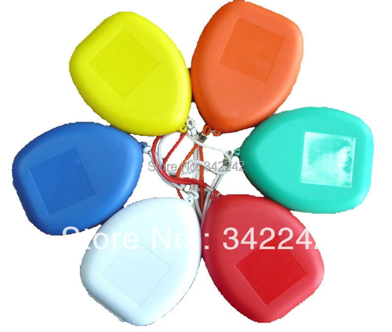Free shipping 80pcs lot CPR masks artificial breathing mask first aid training Check valve Mask cpr