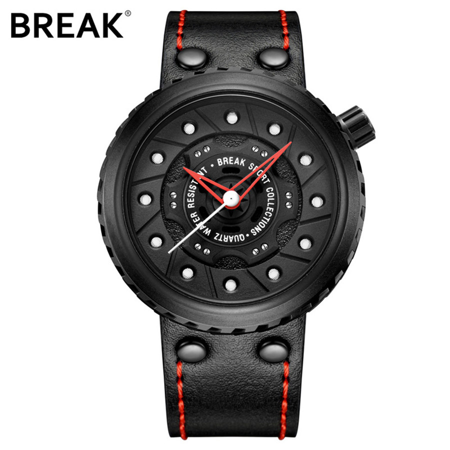 Mens Watches Top Brand Luxury Analog Quartz Watch Men Wrist Watch Sport Male Clock Army Waterproof Leather Military 2018 NEW ochstin square luxury brand military watch men analog quartz wrist watch leather clock man new sport men watch army reloj hombre