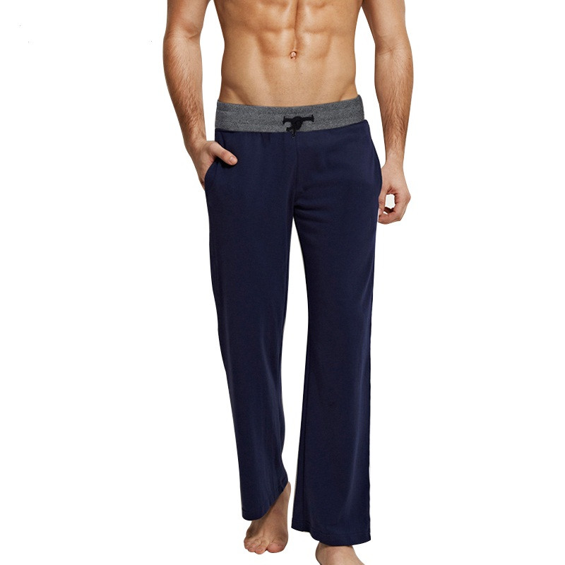 Men-s-Casual-Trousers-Soft-Men-s-Sleep-Pants-Homewear-Lounge-Pants-Pajama-Casual-Loose-Home