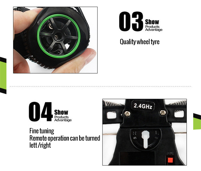 120 Off Road Remote Control Car 2.4G 2WD RC Car Radio Controlled Toys  RC Electric Car Off Road Truck Boy Cool Gifts (14)