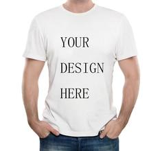 Custom Print of Modal Crew Neck Men's T-Shirt