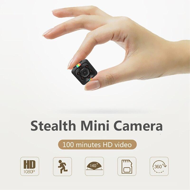 SQ11 Mini Caméra 1080 p Sport DV Mini Infrarouge de Vision Nocturne Moniteur Caché petite Caméra SQ 11 petite caméra DV vidéo Enregistreur