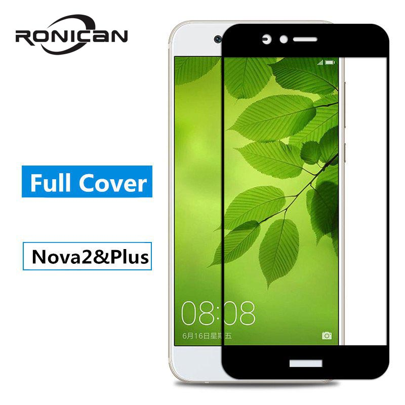For Huawei Nova 2 Glass Tempered Huawei Nova 2 Screen Protector Film Full Cover Huawei Nova2 Nova 2 Plus Protective Glass
