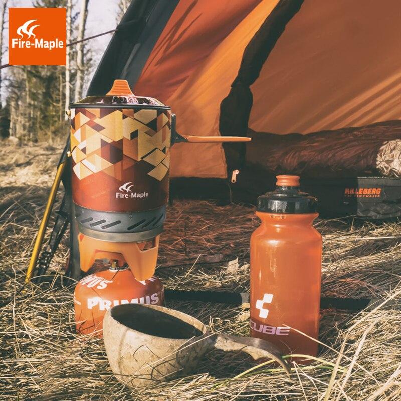 Fire Maple X2 En Plein Air Cuisinière À Gaz Brûleurs Compact Système de Cuisson Avec Échangeur De Chaleur Pot FMS-X2 Camping Trekking & Poêles - 3