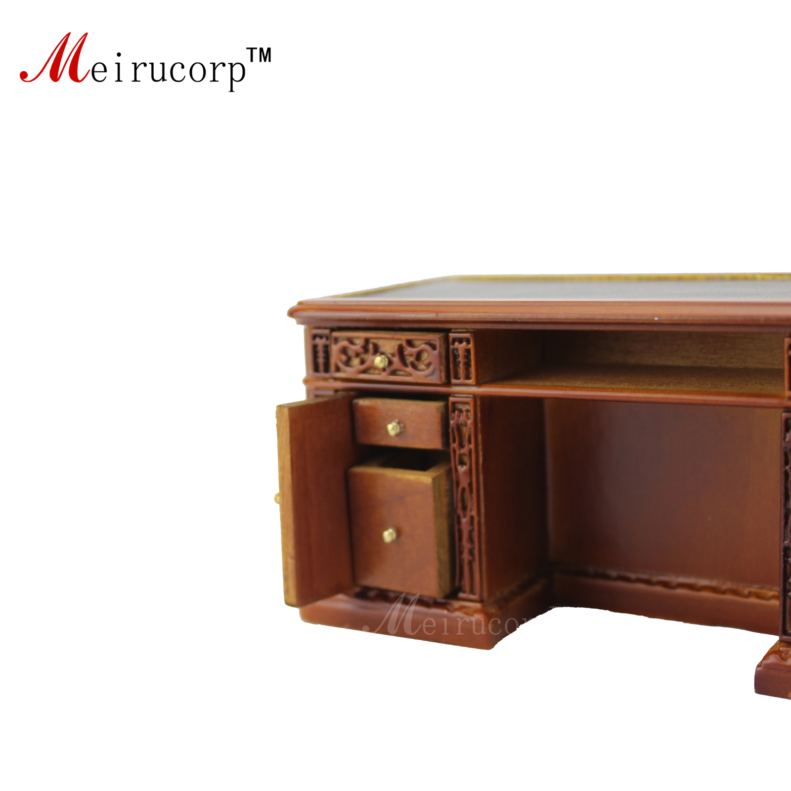 Dockhusmöbler 1:12 skala Miniatyrbrunn Handkontorsskrivbord och - Rollspel - Foto 4