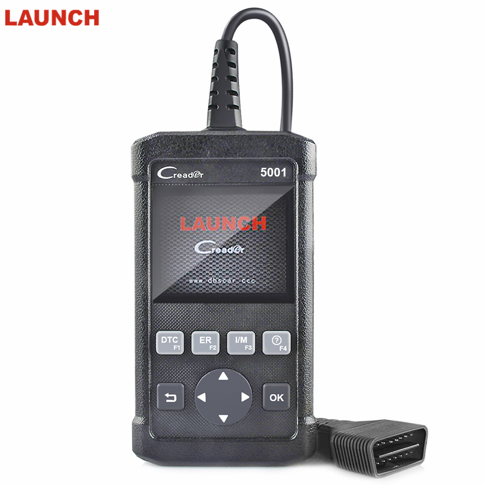 2018 LAUNCH Creader 5001 ODB OBD2 Automotive Scanner OBD II Diagnosis Tool LAUNCH CR5001 Autoscanner Free Update Scanner стоимость