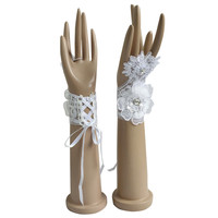 Stock Sexy Bridal Gloves Fingerless For Wedding Bride Cheap Accessories ST13 Gants Mariage Femme The New Listing