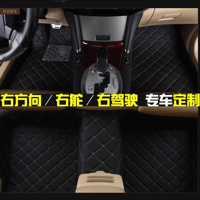 4ae3a43d49 special RHD right hand drive 5seats waterproof no odor non slip car floor  mats for commander MarthaLahtiQuattroportePresident