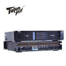 4 ערוץ 4*2500 ואט כיתת TD 10000q קו מערך מערכת קול אודיו מקצועי כוח מגבר טולון לשחק TIP10000q