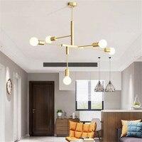 Europe chandeliers LED indoor lamp plated metal vintage bar shop modern dining ceiling decoretion lighting fixture no blub