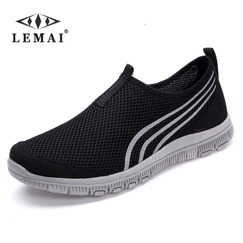 LEMAI Men casual shoes breathable Casual Shoes size