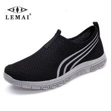 LEMAI 2019 NEW Fashion Men casual shoes, Men's flats Shoes men breathable lovers Casual Shoes size EUR:35-46, 16Color