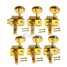 6Pcs Gold Vintage Style Guitar String Tuning Pegs Keys Machine Heads Tuners Set For Right Hand