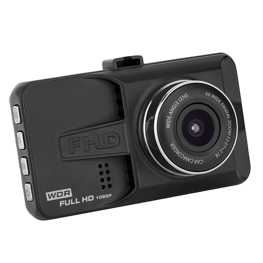 Car Black Box, Dashboard Camera Recorder with 4 Wide Digital Zoom, Dash Cam with 3.0 inch IPS, 1080P FHD, G-Sensor, WDR, Loop