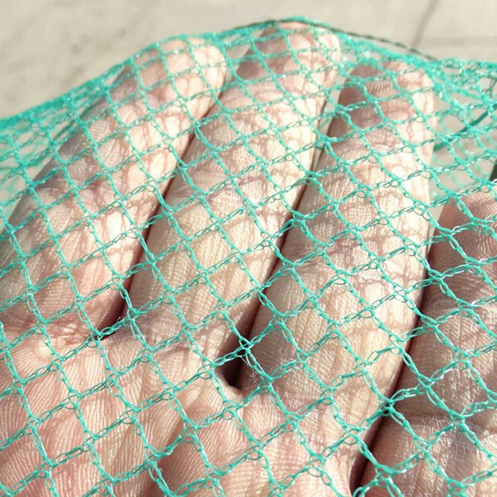 1.5m 11 intervalos pesca portátil dobrável lagostins apanhador peixe vivo camarão isca redes de náilon