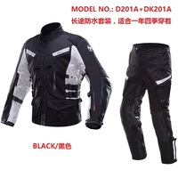 Direct Manufacturers DUHAN Duhan New Suit Waterproof Motorcycle Racing Suit Four Cruise Black Male