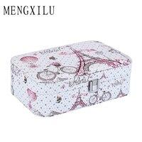 MENGXILU Brand Fashion Cosmetic Bag Women Travel Big Capacity Portable Organizer Makeup Bag Toiletry Box Kits Makeup Organizer