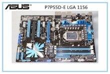 ASUS P7P55D-E placa base DDR3 LGA 1156 USB2.0 USB3.0 para I5 I7 CPU 16 GB P55 escritorio motherborad envío gratis