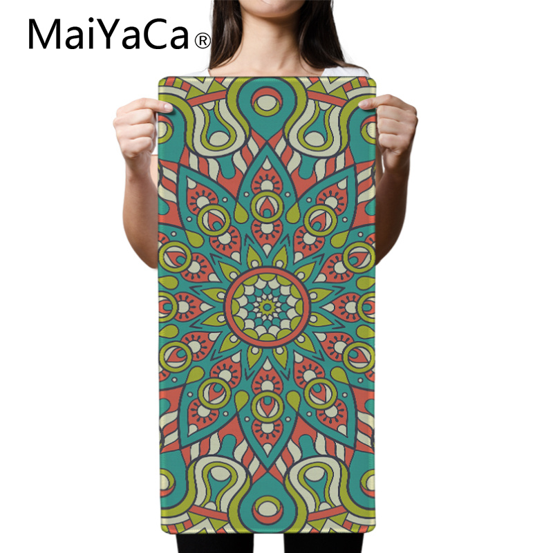 MaiYaCa Print Locking Edge Rubber Mousepads for Carpet Style Mice Mat DIY Design Pattern Computer Gaming Cloud Mouse Pad