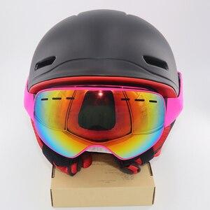 Image 4 - children skiing goggles for kid boys girls glass anti fog lens winter snow glasses snowboard goggle ski googles kids ski goggles