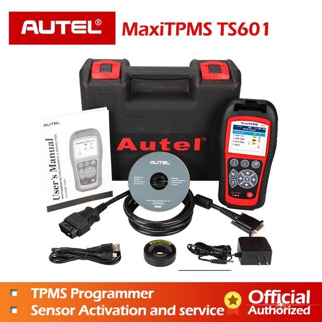New Price AUTEL MaxiTPMS TS601 Car OBD2 Diagnostic Tool Activate Tire Sensor TPMS Reprogramming Automotive Code Reader Scanner PK TS501