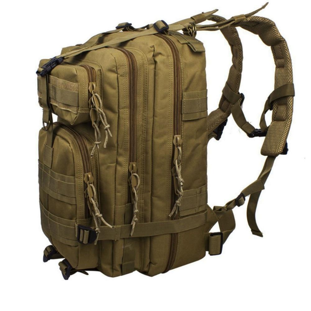 2017 New Men Waterproof Nylon Military Hunt Hike Trekking Bag Backpack Rucksack Bag mochila Backpacks