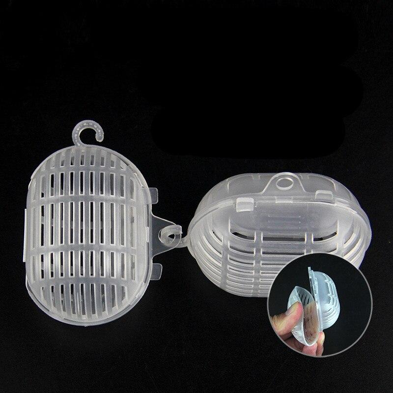 20pcs Mini Bait Cage Feeder Fishing Bag Shrimp Cage Lobster Baits Thread Ball Box Basket Feeder Holder Fish Tool Accessories
