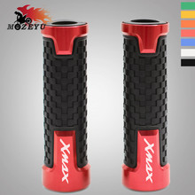 For yamaha X MAX xmax300 XMAX125 X-max 300 Xmax 125 250 400 Motorcycle Accessories CNC Scooter Handle grip ends Handlebar Grips