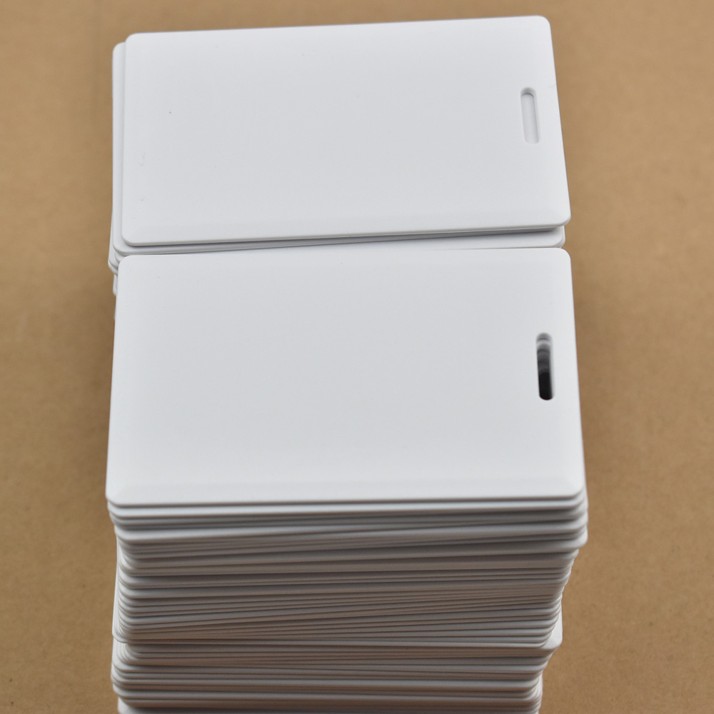 10pcs/lot 125KHz Rfid T5577 Thick Card Rewritable Access Control System Hotel Card
