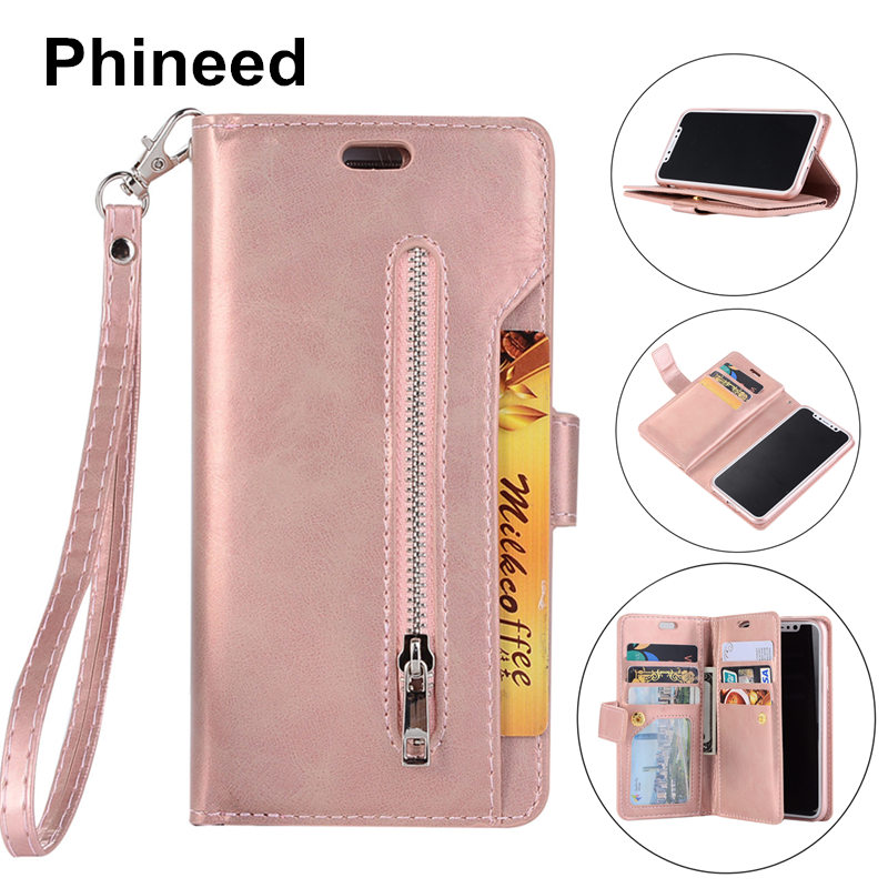 Cell Phone Etui Hoesje Coque Cover Case for Huawei P20 P20Pro P20Lite Lite Pro With Luxury PU