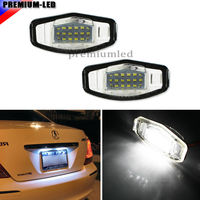 Super Bright 18 SMD OEM Replacement LED License Plate Light Lamps For Acura MDX RL TL
