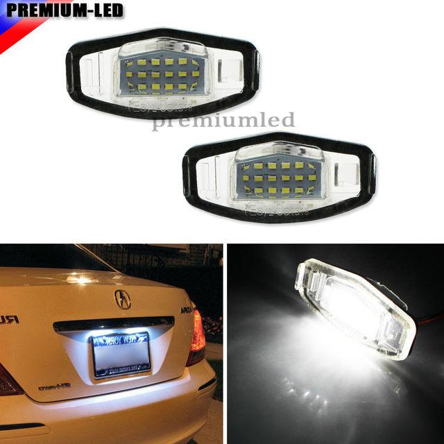 Super brillante 18 smd OEM reemplazo LED Marcos de matrícula luz ...