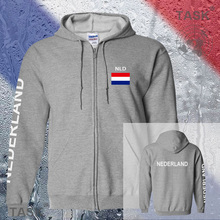 Niederlande nld nederland dutch mens hoodies und sweatshirt jerseys polo trainingsanzug streetwear trainingsanzug nationen fleece reißverschluss