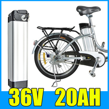 36V 20AH Lithium Battery , Aluminum alloy Battery Pack , Electric bicycle Scooter E-bike Free Shipping free shipping 36v electric bicycle battery box e bike lithium battery case for 36v li ion battery pack not include the battery
