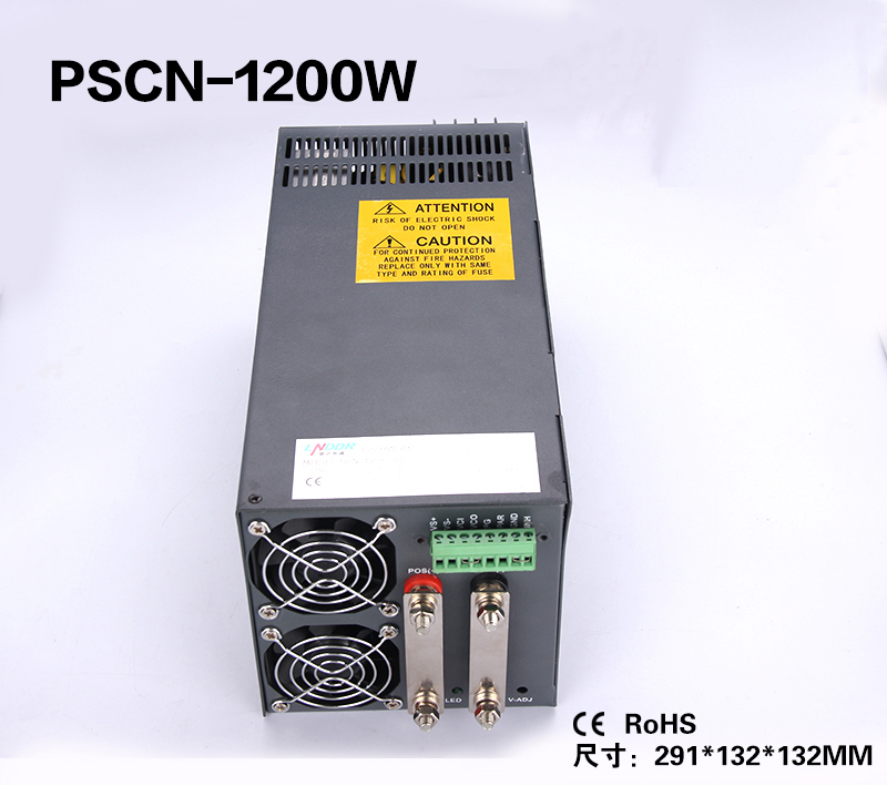 1200W 24V 50A Single Output Switching power supply for LED Strip light AC DC SCN 1200 24